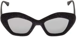 Italia Independent I-I Mod Phebe Lurex Velvet Sunglasses