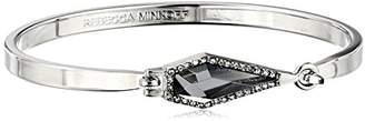 Rebecca Minkoff Rhodium Thin Blade Bangle Bracelet