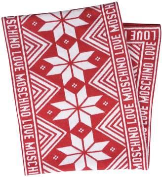 Love Moschino Logo Scarf