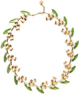 Miu Miu floral necklace