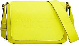 Burberry Burleigh Small Soft Leather Crossbody Bag, Yellow
