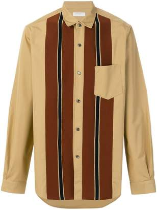 TOMORROWLAND Tricot striped detail shirt