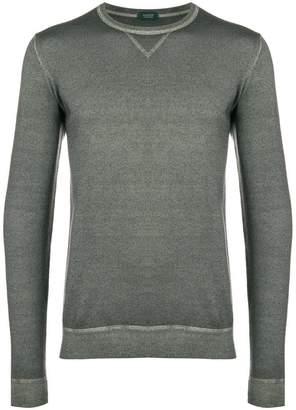 Zanone tight knit jumper