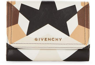 Givenchy Printed Leather Bi-Fold Wallet
