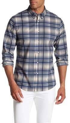 Slate & Stone Regular Fit Plaid Long Sleeve Shirt