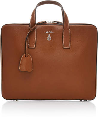 Mark Cross Parker Saffiano Leather Briefcase