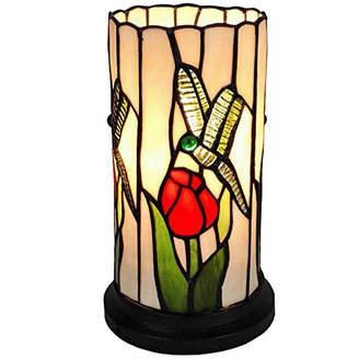 Tiffany & Co. AMORA Amora Lighting AM089ACC Style Dragonfly Mini Table Lamp 10 Inches Tall