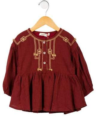 Louise Misha Girls' 'Ourika' Embroidered Dress w/ Tags