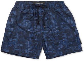 Ermenegildo Zegna Mid-Length Printed Swim Shorts