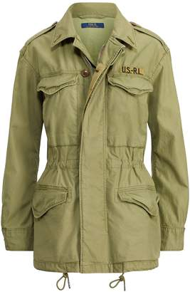 Ralph Lauren Twill Military Jacket