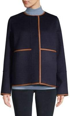 Lafayette 148 New York Reversible Wool and Cashmere Jacket