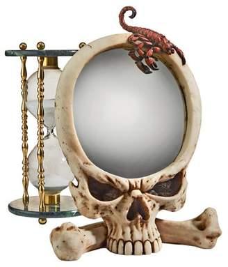 Toscano Design Sting Of The Scorpion Skull Wall Mirror