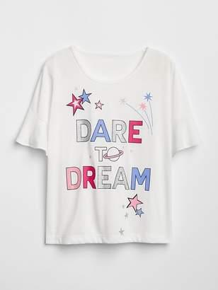 Gap Graphic Ruffle T-Shirt