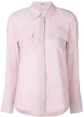 Max & Moi chest pocket shirt