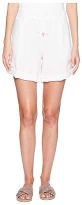 Eileen Fisher Rolled Organic Linen Shorts Women's Shorts