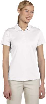 adidas Ladies climalite Basic Short-Sleeve Polo, XL