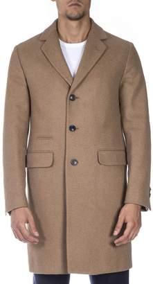 Mauro Grifoni Camel Wool Coat
