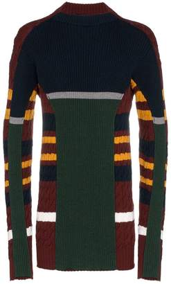 Y/Project Y / Project Skinny knit crew neck long sleeve jumper