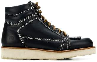 J.W.Anderson navy hiking boot