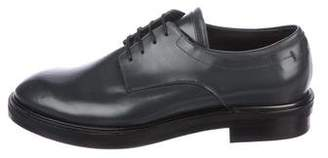Calvin Klein Collection Leather Derby Shoes