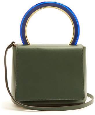 Marni Pannier leather crossbody bag