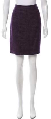 Akris Textured Mini Skirt