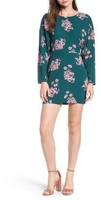 Leith Floral Minidress