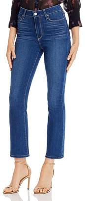 Paige Cropped Flare Jeans in Cityscape - 100% Exclusive