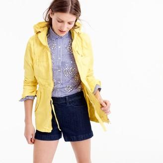 Petite cotton anorak jacket $148 thestylecure.com