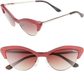 Quay All Night 60mm Cat Eye Sunglasses