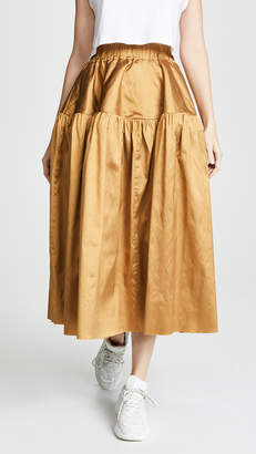 Marques Almeida Gathered Full Skirt