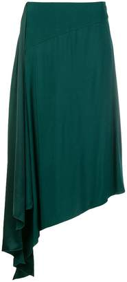 Givenchy asymmetrical midi skirt
