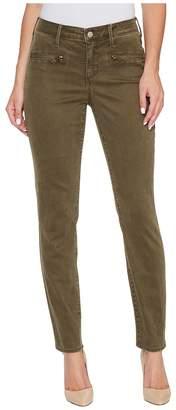 NYDJ Skinny Chino Pants w/ Zipper Women's Casual Pants