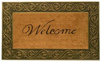 """Prestige Welcome 18"""" x 30"""" Coir/Rubber Doormat Bedding"""