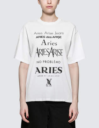 Aries Perfume Short Sleeve T-Shirt
