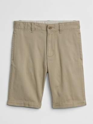 Gap Uniform Khaki Shorts in Stretch