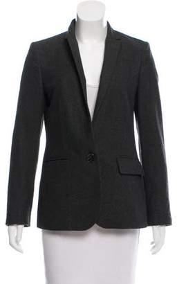 Stella McCartney Wool Notch-Lapel Blazer