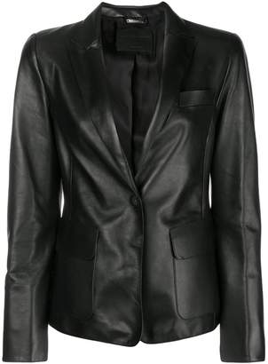 Giorgio Armani (ジョルジョ アルマーニ) - Giorgio Armani leather blazer