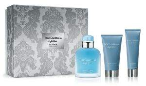 Dolce & Gabbana Light Blue Eau Intense Pour Homme Three-Piece Eau de Parfum Gift Set