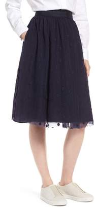 1901 Embroidered Tulle Skirt