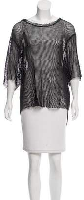 IRO Oversize Woven Short Sleeve Top w/ Tags