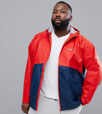 Jacamo Snow Performance Shell Jacket In Color Block