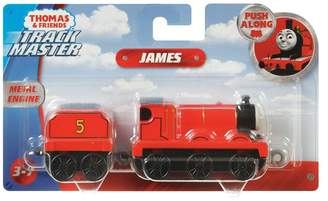 Thomas & Friends Boys TrackMaster Large Push Along James Engine