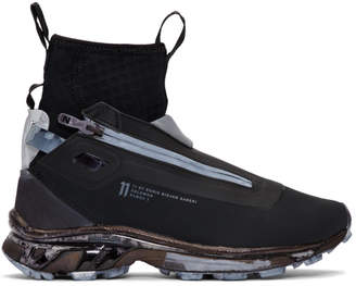 11 By Boris Bidjan Saberi Black Salomon Edition Bamba 3 Sneakers