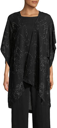 Eileen Fisher Marrakesh Printed Silk-Blend Kimono