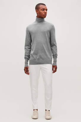 Cos REVERSE-STITCHED WOOL JUMPER