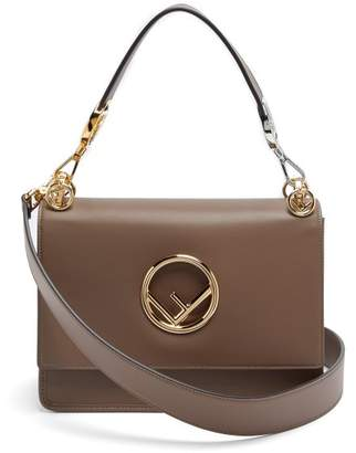 56f2b0357f Fendi Kan I Small Leather Shoulder Bag - Womens - Brown