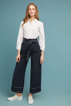 Elliatt Elliat Stitched Wide-Leg Pants