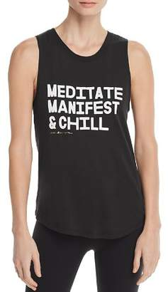 Spiritual Gangster Meditate Muscle Tank