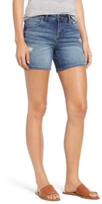 SLINK JEANS Side Vent Denim Shorts